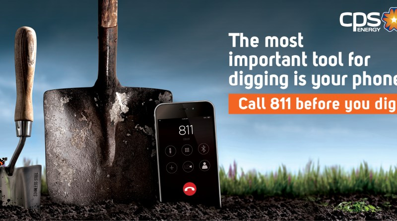 (Image) Call 811 before you dig