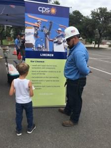 Lineman talks training