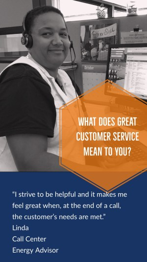 (Image) Linda, Call Center Energy Advisor