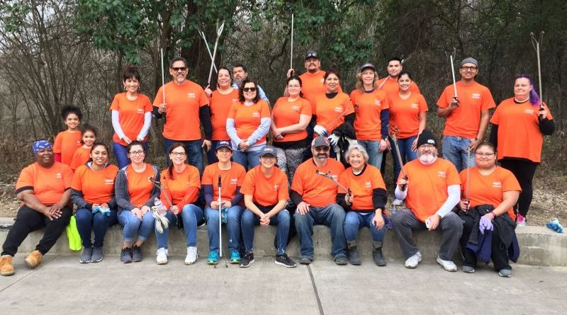 Team members show their love for the environment at Basura Bash
