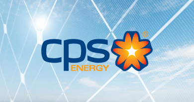 CPS Energy Backdrop Blue