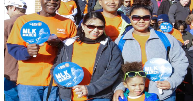 Family carries on 20-year tradition at MLK March