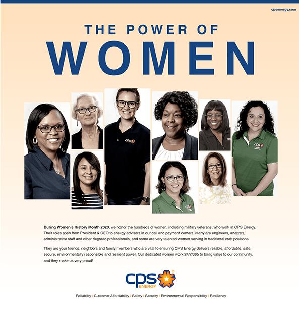 The Power of Women Full pg Ad