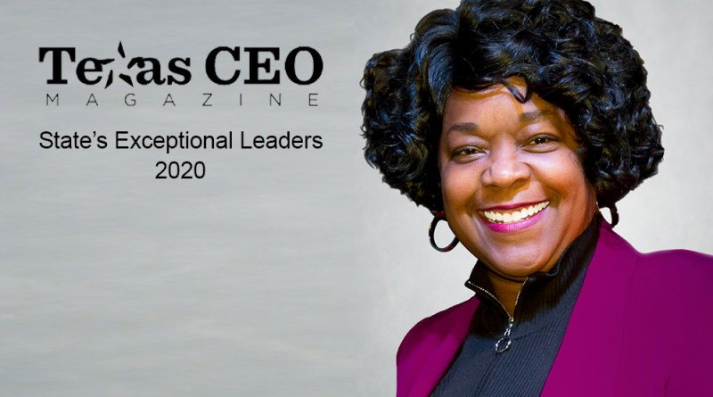 Paula Gold-Williams wins Texas CEO Magazine's leadership award