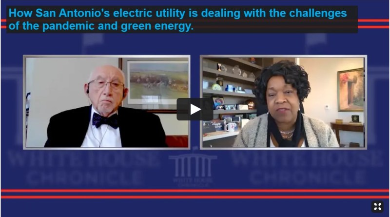 Screenshot of White House Chronicle interview with Paula Gold-Williams