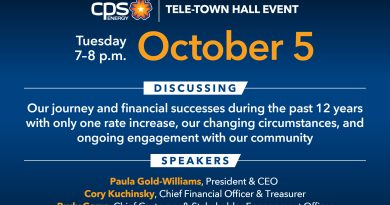 Details of October 5 CPS Energy Tele Townhall