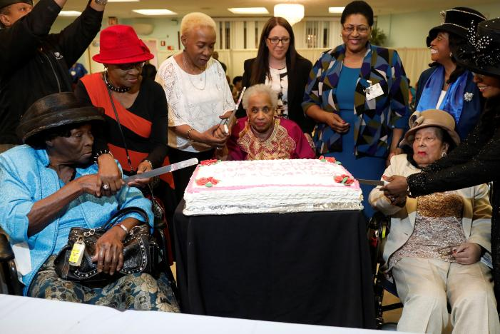 Guyanese Among Three In Brooklyn Nursing Home To Celebrate 100th Birth Anniversary