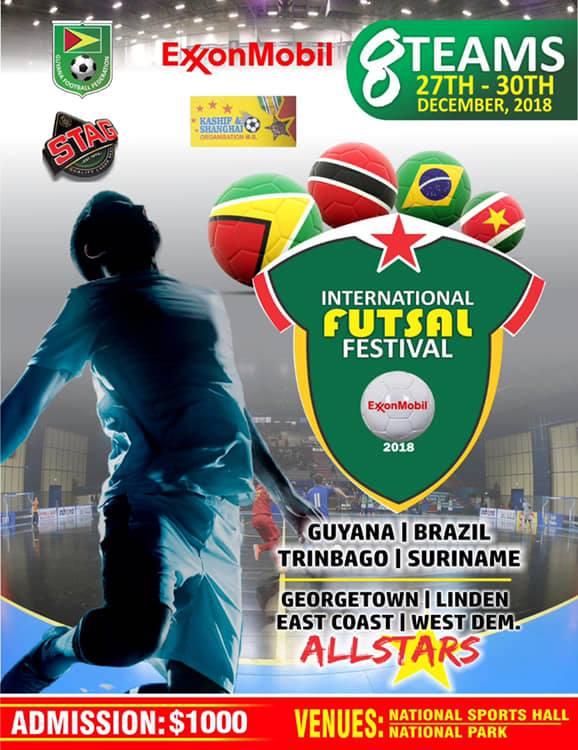 ab73618350 Trinidad vs Linden to open play in GFF ExxonMobil International Futsal