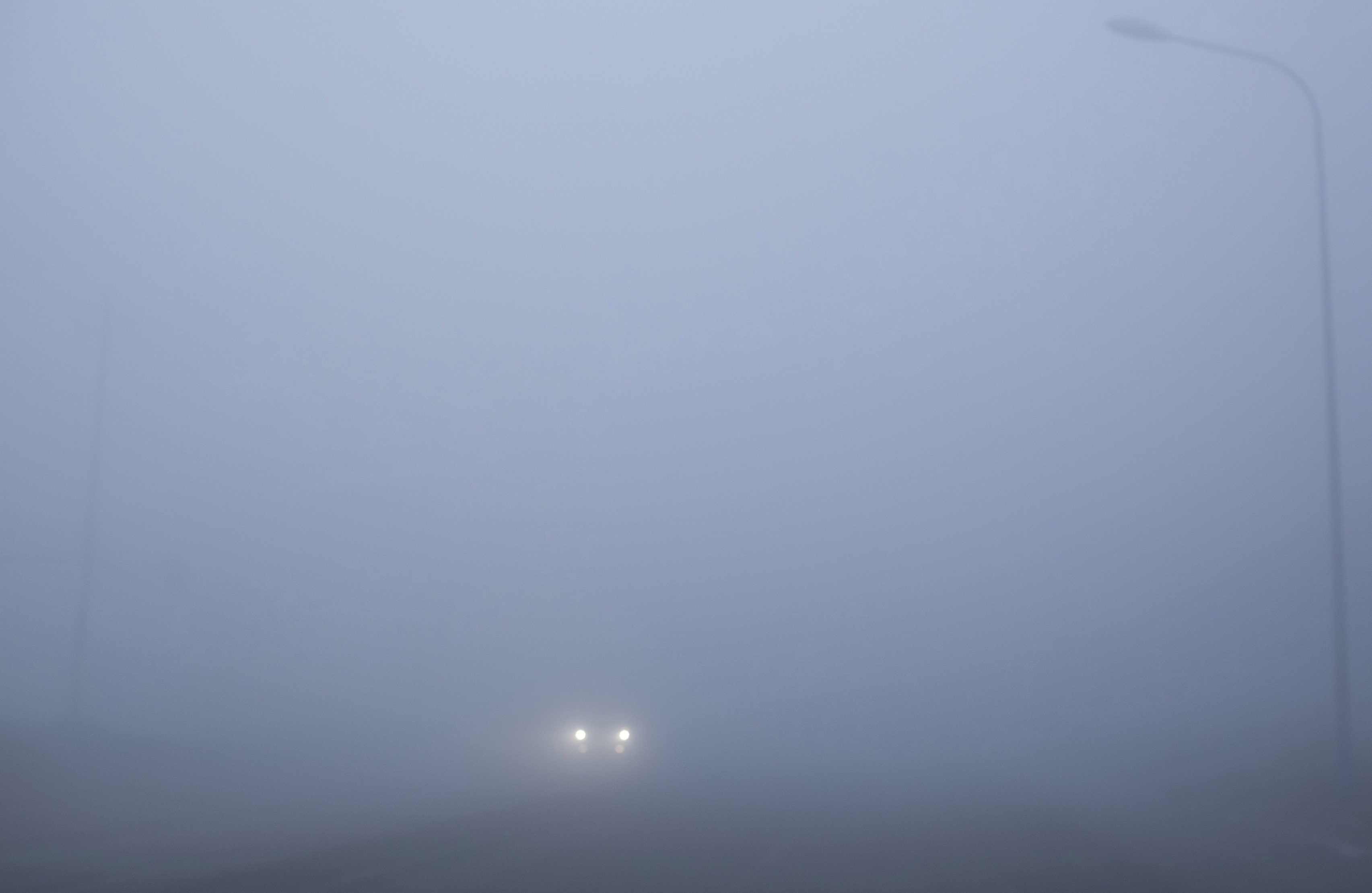 Image result for driving in heavy fog
