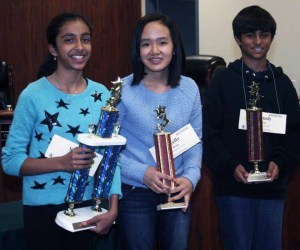 An image of the 2015 Orange County Spelling Bee winners