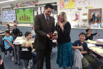 2016 Orange County Teacher of the Year Natalie Carias