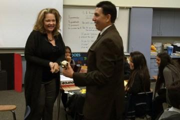 2016 Teacher of the Year Sharon Romeo