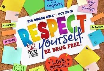 Red Ribbon Week graphic