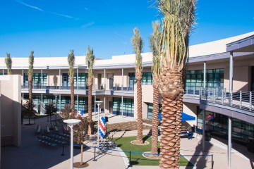 Beckman High School Humanities Building