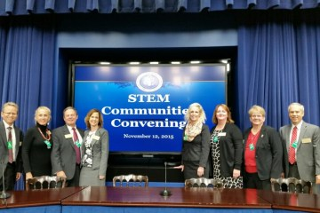 Attendees of the STEM Communities Convening event
