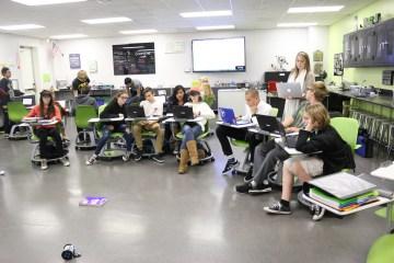 An image of a classroom in Laguna Beach