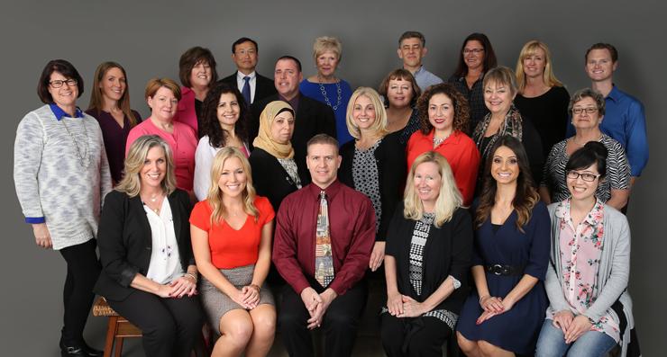A photo of Orange County teachers