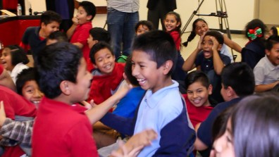 Thorman Elementary School students surprised