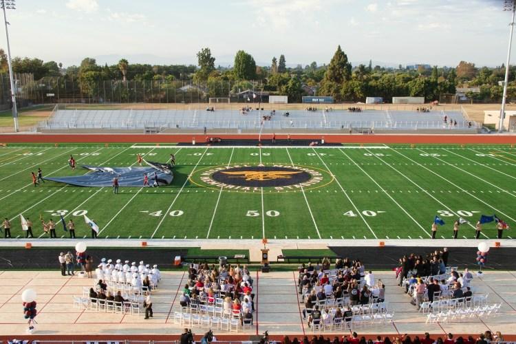Garden Grove High School dedicates new stadium in honor of