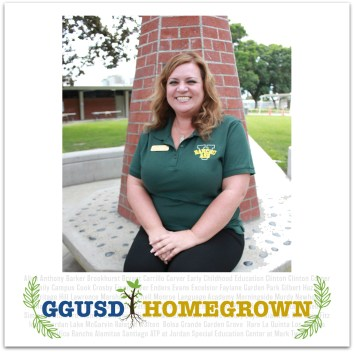 Garden Grove Unified staff member Bridget Lockhart