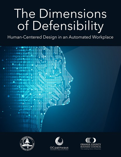 Cover page for The Dimensions of Defensibility