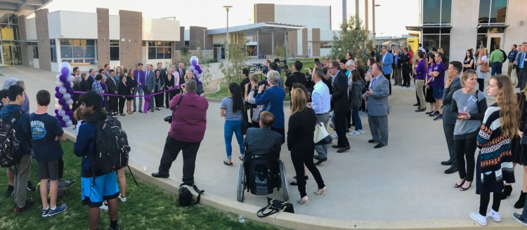 Irvine Unified School District holds dedication ceremony for