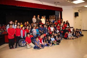 Thorman Elementary School students