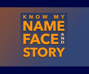 Know my name face and story title