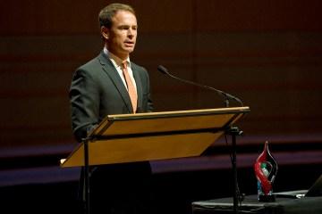 Irvine Unified School District Superintendent Terry Walker