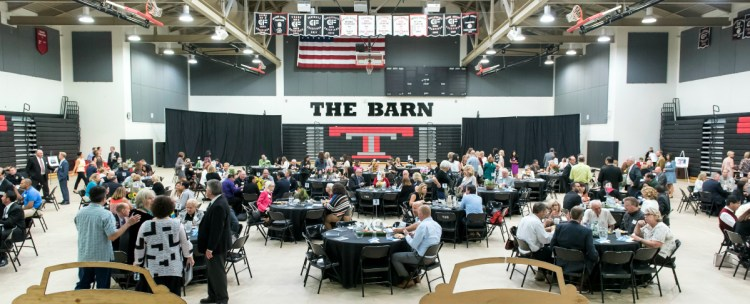 Tustin's sixth annual State of the Schools Breakfast at the Tustin High Sports Pavilion