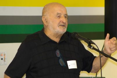 Holocaust survivor Sam Silberberg