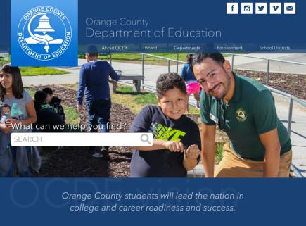 OCDE.us homepage