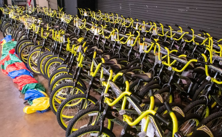 More than 130 new bikes