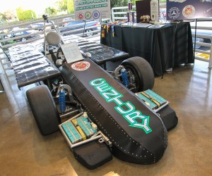 Unstoppable 1 solar electric race car