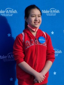 Fifth-grader Vivian Nguyen