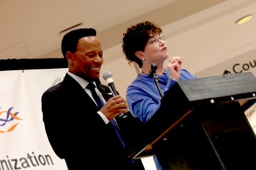 William Allen Young and event co-host