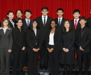 Woodbridge High School's Academic Decathlon team