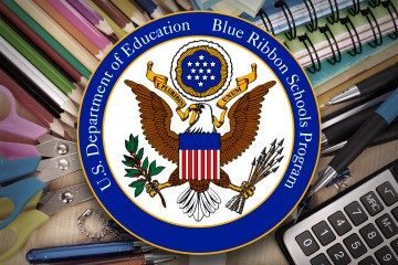 Blue Ribbon Schools Program logo