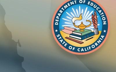 California Dept of Education logo