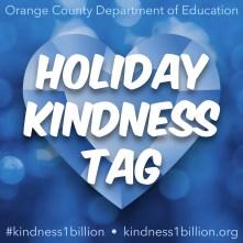 Holiday Kindness Tag