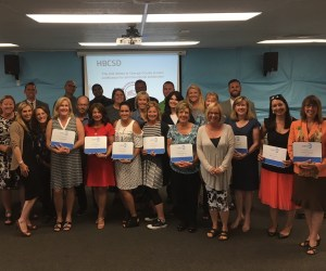 Educators from the Huntington Beach City School District