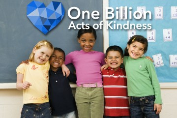 One Billion Acts of Kindness title card