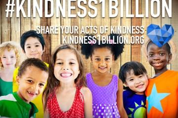 #kindness1billion title card