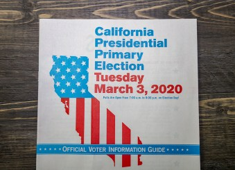 Cover of Voter Information Guide