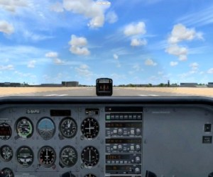 Flight simulator from Canyon High School