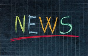 News chalkboard graphic