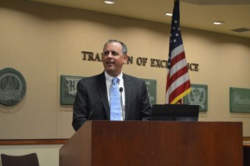 An image showing the new superintendent of the Placentia-Yorba Linda Unified School District, Dr. Gregory S. Plutko, Ed.D.