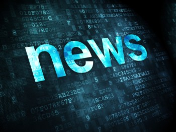 A news graphic