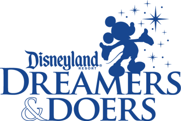 The Disneyland Resort Dreamers & Doers logo