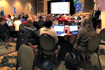 An image of attendees at a previous Day of Discovery event